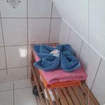 Badezimmer, Duschbad,  Ferienhaus Norderney