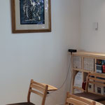 会堂建築記念で寄贈された渡辺禎雄氏の版画