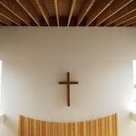 2020年9月11日 礼拝堂 天井まで含める