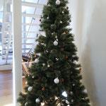 2020年12月20日 室内のクリスマスツリー