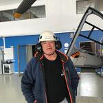Unser Oberlecher Winterwanderwegewart beendet seine Saison am Bauhof. Danke Konrad für deine Arbeit, bis zum nächsten Winter!