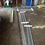 Entwässerungsrinnen-Einbau Bauhof Werkstatt