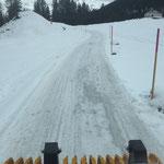 """""""Eisbrechen"""" Winterwanderweg Zug-Älpele"""