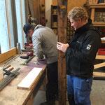 Reparaturarbeiten für Waldbad