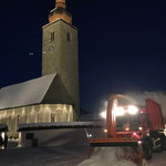 Schneedepot holen Kirchplatz, mit U530