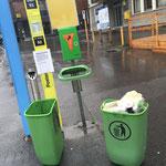 Müll Zentrum leeren