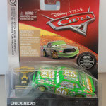 Scavenger Hunt rubber tires - Chick Hicks w/ Piston Cup