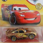 """Golden"" Lightning McQueen - 15th Year Anniversary CARS 2021 (MINT)"