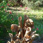Au détour du jardin - Bouquet de Flammes -