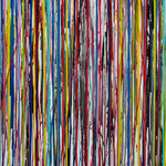 KERSTIN SOKOLL, Lost, 2018, O002, 120 x 100 cm