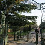 Entrée du parc du Petit Jard