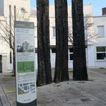 Oeuvres de Christian Lapie Place Stalingrad à Reims