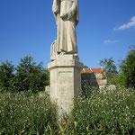 Statue de St Gobain