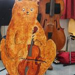 Bruno Bär. Bühenfigur für ein Kinder-Musiktheater.