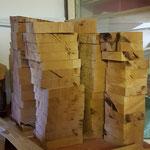 einmal Holzbuchstaben werden können