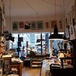 Achims Kleine Letternpresse ist Werkstatt und Laden