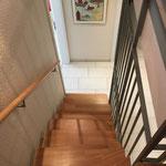 Treppe in der Wohnung