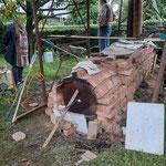 Cuisson raku à Saumont juillet 2021