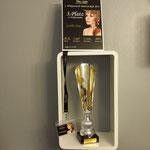 Der Pokal für den 3. Platz.