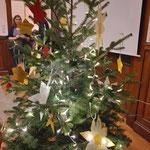 Weihnachtsfeier Kinderdialyse Bonn 2019. Weihnachtsbaum