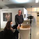 BLICKRICHTUNG  2020 / 2021, ZOOM-VERNISSAGE – Galerie Rubrecht /foto: LR