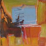 207 Ohne Titel, Acryl auf Leinwand, Gitta Junge, 60 x 60 cm