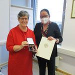 22. Dezember: Maria-Barbara Naumann, die Chefin der Kaulsdorfer Rettungsstelle, erhält das von Bundespräsident Frank-Walter Steinmeier im November verliehene Bundesverdienstkreuz.