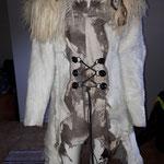 TEUFELIN Zweiteiler bestehend aus Corsagenkleid und kurzem Mantel