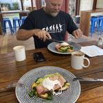 nach einem tollen Frühstück brechen wir nach Roebourne auf