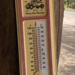 9:30Uhr und 35Grad, es wird etwas kühl heute 😅