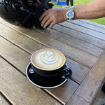 Marty's Flat white ...