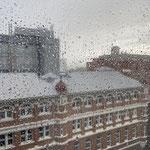 Auch Regen hat es gegeben, genau an dem Tag an dem ich km machen wollte