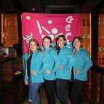 neuer Vorstand (von l. n. r.): Elsbeth, Nicole, Martina und Vreni