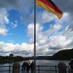 Deutsches Eck (hier treffen der Rain und die Mosel zusammen)