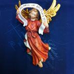 19A - Angelo Gloria  da appendere - scultura in legno dipinta a mano