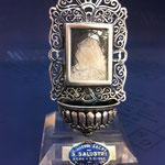 15B - Acquasantiera in argento fatta a mano Madonna Addolorata