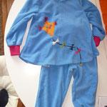 Fleece Anzug für Kinder