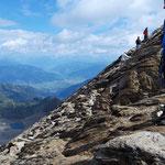 Abstieg vom Kitzsteinhorn