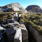 Die Goinger Festung - eine gut erhaltene Stellungsanlage