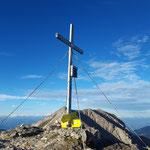Schrocken Gipfelkreuz