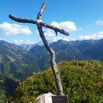 Gipfelkreuz des Wildererblicks