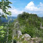 Ausblick am Gipfel