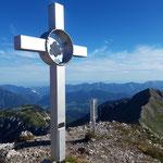 Gipfel des Kaminspitz