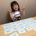 幼児英語読みカード