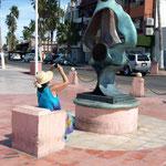 an Skulpturen