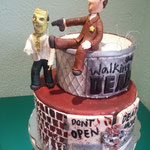 PASTEL FONDANT THE WALKING DEAD