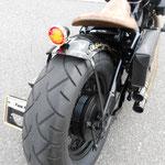Motorrad nach Umbau