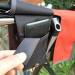 feewerk, Fahrradtaschen, Lenkertaschen, Fahrrad, Hollandrad, Rot