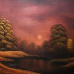 Stille - Inner Circle 6, 40x50, Öl