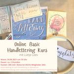 24.06.2021 - Online Basic Handlettering Kurs mit Lütje Leev